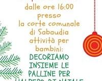locandina del primo appuntamento: PREPARA IL NATALE 3 DICEMBRE 2017